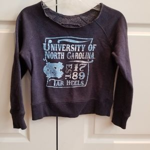 Girls UNC Tarheels Sweatshirt